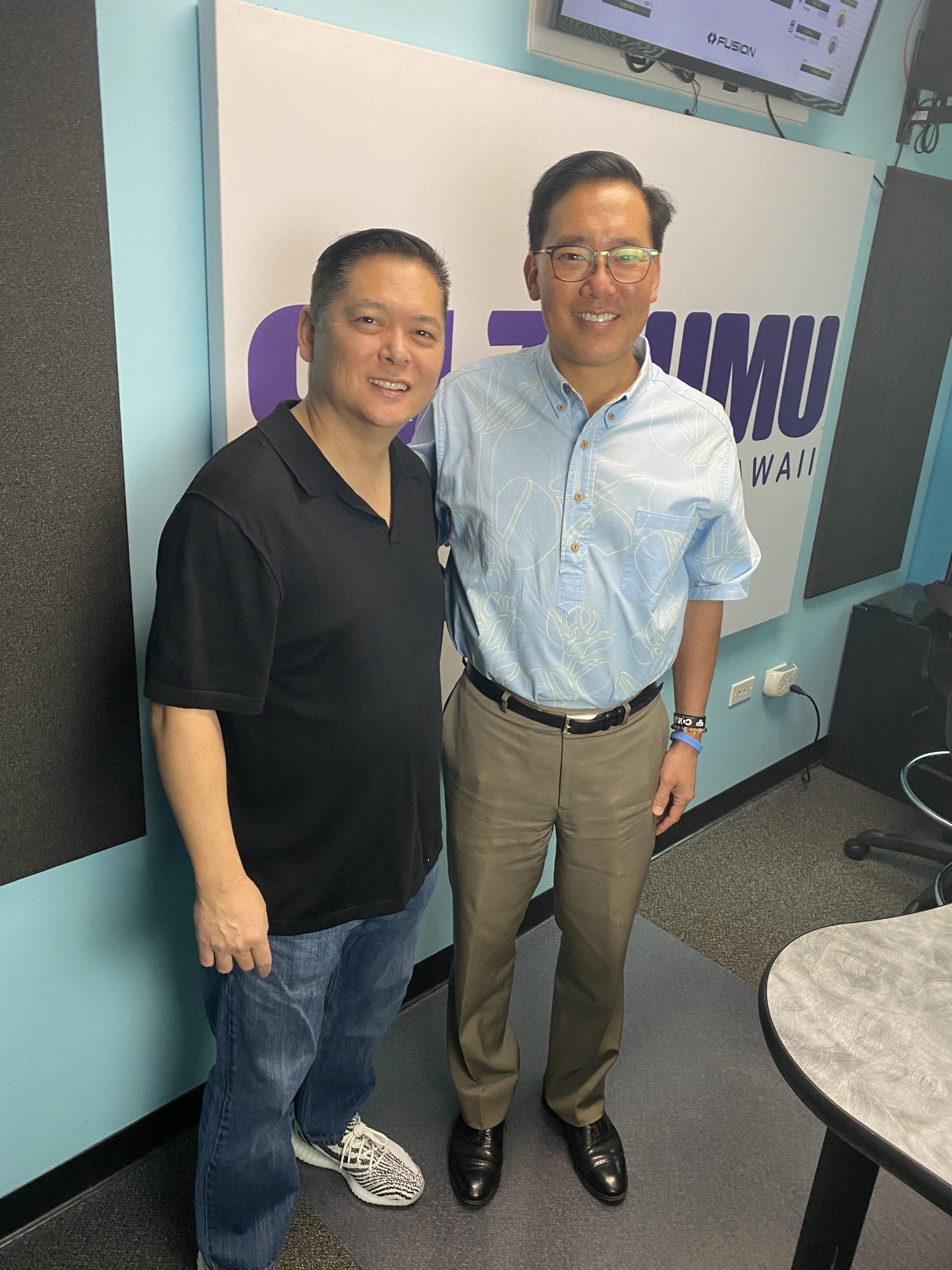 Hawaii Matters Host Devon Nekoba with Mayoral Candidate Keith Amemiya