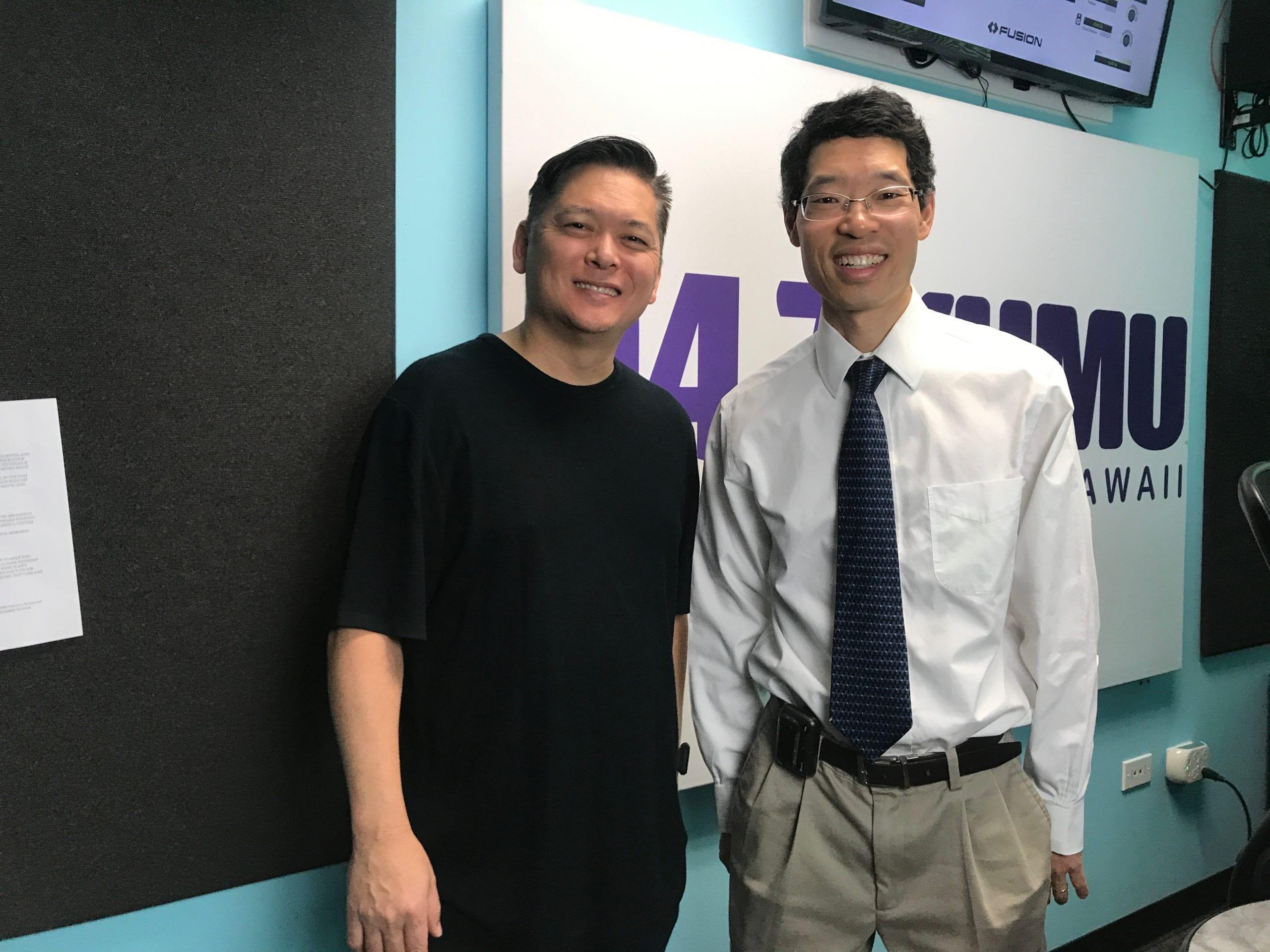 Hawaii Matters Host Devon Nekoba with Dr. Stephen Chang, Interventional Cardiologist with Kaiser Permanente